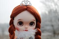 Portrait on a frosty morning. (Herzlichkeiten) Tags: blythe doll customblythe herzlichkeiten