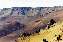 Haleaakala Crater (Bill in DC) Tags: hawaii 1999 film 35mm smp4 maui haleakala
