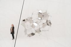 Slash (blech) Tags: sanfrancisco sfmoma tomassaraceno stillnessinmotion art museum exhibition monochrome california unitedstates us