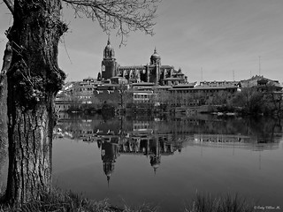 Salamanca, España. Río Tormes.