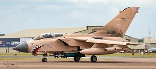 RAF Panavia Tornado GR4 Gulf War special scheme