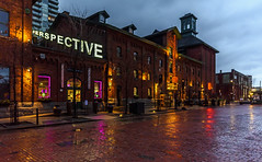 Perspective (John G Briggs) Tags: toronto distillery district light fest festival sculptures public art