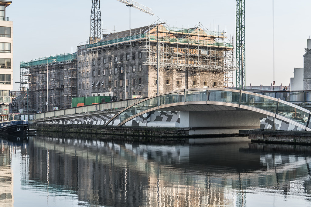 MacMAHON BRIDGE ON PEARSE STREET [MISTY DAY 11 JANUARY 2018]-135498