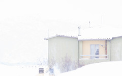 Nevicata. La metamorfosi del mondo avviene in silenzio. (Heinrich Wiesner) (Margcoss) Tags: inverno neve white bianco