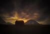 From Iceland. (Tóta. 27.12.1964.) Tags: nature sunset mountain clouds sky house iceland ísland