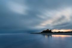 Bamburgh (Derek Robison) Tags: castle northumberland landscape minimalist longexposure beach bamburghcastle uk architechture