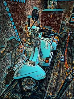 The Piaggio Scooter
