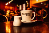Afternoon tea (G. Postlethwaite esq.) Tags: dof ediisons sheffield yorkshire beyondbokeh bokeh cafe cup depthoffield jug photoborder saucer selectivefocus spoon teapot eastparade