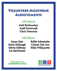 Volunteer Milestones 1.2018 100-150 Hours