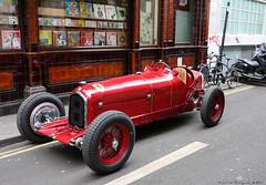 Alfa Romeo P3 (Rick & Bart) Tags: london england uk city urban rickvink rickbart canon eos70d car antique classic alfaromeo p3 alfaromeop3 tipob transport history 8 soho
