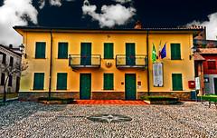 The town hall are closed today (Marco Trovò) Tags: marcotrovò hdr canon5d montesegale pavia italia italy city città strada via street casa house castellodimontesegale montesegalecastle townhall municipio o