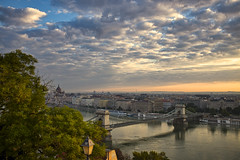 The view over Budapest (Stockografie) Tags: x100t budapest cityscape cloudscape sky