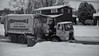 Dependable Disposal (george.m.hernandez) Tags: trash garbage win snow dependable truck camillus pentaxk1 50mmf14