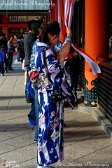 Pray for Peace (remi ITZ) Tags: japan japon kyoto fushimi inari tradition kimono chat cat dieu gods dieux