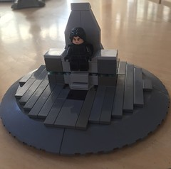 Supreme Leader's Throne (Evan Ridpath) Tags: lego star wars last jedi moc supreme leader snoke throne room snokes first order destroyer empire emperor force tree yoda luke skywalker rey ahchto island fire creation wip