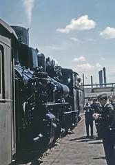 MÁV metre gauge 0-8-2 at Diósgyőr steelworks (TrainsandTravel) Tags: hungary ungarn hongrie magyarország narrowgauge voiemetrique meterspur méteresvasút steamtrains trainsàvapeur dampfzüge gőzvonatok diósgyőrsteelworks diósgyőracélművekc leninkohaszatmuvet miskolc 082