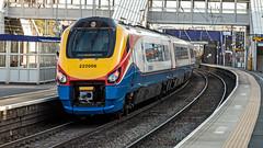 222006 (JOHN BRACE) Tags: 2004 bombardier brugge built meridian demu 222006 seen passing west hampstead thameslink station non stop east midlands trains livery