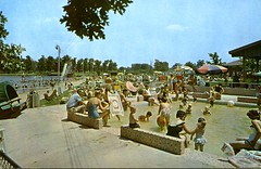 Splash Pool, Lake of the Woods, Mahomet, Ill. (The Urbana Free Library Digital Collections) Tags: lakeofthewoods mahomet