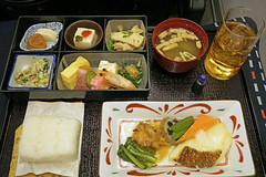 Japan Airlines Meal (Luke Lai) Tags: jl japanairlines 日本航空 businessclass planefood