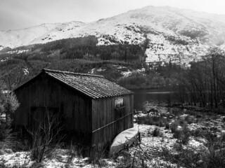 The Boathouse - Loch Eck Jan 2018