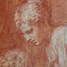 PRIMATICE - Jacob prenant la Main d'Isaac présenté par Rébecca (drawing, dessin, disegno-Louvre INV8512) - Detail 43