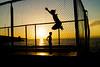 (c) Wolfgang Pfleger-7147 (wolfgangp_vienna) Tags: postira jumping springen kroatien croatia brac islandbrac sunset sonnenuntergang trampolin sport fun gegenlicht sun sonne