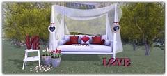 Love is in the air (Abi Latzo) Tags: beedesigns gacha thegachagarden furniture decor homeandgarden home mesh secondlife sl shopping valentine events