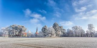 Winterly church