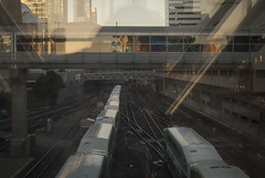 2017-10-18_08-03-06 Early Morning Trains (canavart) Tags: unionstation toronto ontario canada tracks railroad gotransit gotrain train morning sunrise commuting