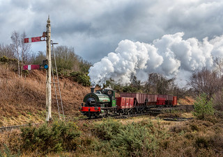 Tanfield Railway 'Coals to Newcastle' 5-2-2018