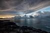 Poipu, Kauai. (drpeterrath) Tags: canon eos5dsr 5dsr landscape seascape color clouds atmosphere water ocean pacific rocks sunrise sunset kauai hawaii poipu