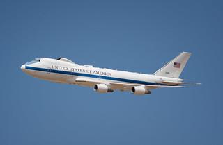 USAF Boeing 747 E-4B 'Nightwatch'