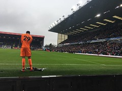 Nick Pope (mattgilmartin) Tags: premier league football goalkeeper turf moor nick pope