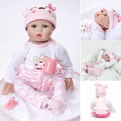 22′′ Handmade Lifelike Newborn Baby Doll Full Body Silicone Vinyl Reborn Gift (1240742) #Banggood (SuperDeals.BG) Tags: superdeals banggood toys hobbies 22′′ handmade lifelike newborn baby doll full body silicone vinyl reborn gift 1240742