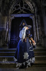 Fotocon 2017: Ailiroy as Astrologian from Final Fantasy XIV (cathedral ver.), by SpirosK phototgraphy (SpirosK photography) Tags: fotocon fotocon2017 fotoconbytechland ailiroy ailiroyartsandcrafts astrologian class stairs steps door cathedral church portrait strobist nikon cosplay costumeplay finalfantasyseries finalfantasy ffxiv ff14 finalfantasyxiv arealmreborn
