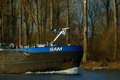 TMS SAM (Lutz Blohm) Tags: tmssam tankschiff rheinschifffahrt rhein speyer fe70300goss binnenschifffahrt binnenschiffe gütermotorschiff sonyalpha7aii fluskilometer399