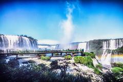 The Iguacu Miracle (**capture the essential**) Tags: 2016 brasilien brazil bäume fozdeiguazu iguacu jungle landschaften rainbow regenbogen sonne sonye18200mmoss sonynex7 sun trees urwald wasserfälle waterfalls wetter