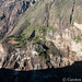 The Choquequirao trek - the trail on the other side of the gorge