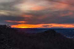 Pinnacle Sunset, 2018 (sallydillo1) Tags: berea bereapinnacles pinnaclesofberea indianfortoverlook sunset madisoncounty kentucky hikeky hikekentucky explorekentucky exploreky