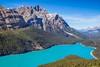 Peyto Lake (Georgi Marinov) Tags: alberta canada nature landscapes bowlake peytolake waterfowllake canadianrockies canoneosm3 canonefm28mm