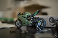 Work in Progress Ducati Panigale (maxwell1326maxen) Tags: model scalemodel tamiya ducati panigale