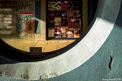 Stokes Croft Scenes (zolaczakl) Tags: bristol stokescroft stokescroftscenes fujix100s photographybyjeremyfennell february 2018 posters graffiti streetart lightshadow uk england urban