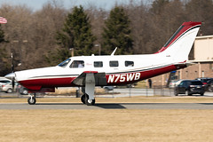 N75WB (✈ Greg Rendell) Tags: 2010 n75wb piperpa46r350tmalibumatrix private aircraft airplane aviation brandywineairport flight gregrendellcom koqn n99 oqn pa pennsylvania spotting westchester westchesterairport unitedstates us