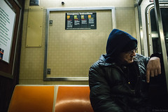 A Taste Of New-York - The Diner.jpg (simdb) Tags: newyork étatsunis us mta metro transport men underground alone sad street streetphotography