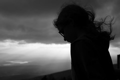 .... (AGraddyPhoto) Tags: agraddyphoto daughter blackandwhite silhouette child canon canoneos6d outdoors
