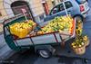 Viaggio in Sicilia (andrea rigobello) Tags: mestieri società palermo sicilia italy italia limoni giallo colori frutta mediterraneo venditore ambulante limonaio limunaru apecar città