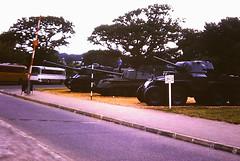 Pershing, Archer and Boarhound, Bovington Tank Museum 1970s (Richard.Crockett 64) Tags: m26 pershing valentine archer t18 boarhound tank tankdestroyer armouredcar armouredfightingvehicle militaryvehicle unitedstatesarmy britisharmy ww2 worldwartwo bovingtontankmuseum bovington dorset 1970s