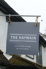 Haywain, Little Bromley. (piktaker) Tags: essex pub inn bar tavern pubsign innsign publichouse haywain littlebromley