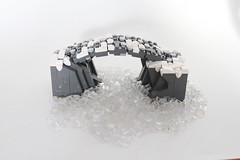 Ice Bridge (-Matt Hew-) Tags: lego castle kingdoms moc knights ninjas samurai ninja rock technique