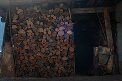 Leña para el invierno (Oscar F. Hevia) Tags: leña madera invierno fuego cocina chimenea almacen cobertizo carro curioso estético firewood wood winter fire kitchen chimney warehouse shed car curious aesthetic asturias asturies caso españa paraísonatural principadodeasturias spain tanes es